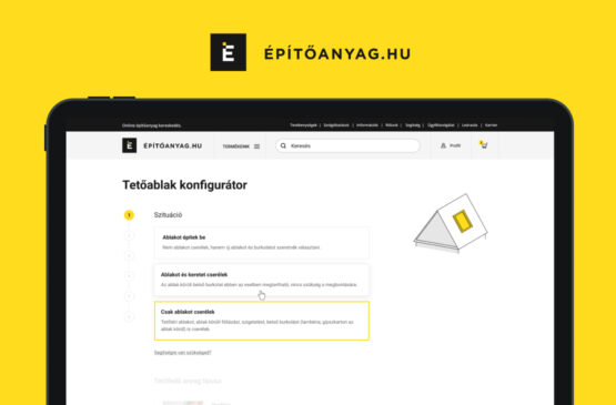 Virgo esettanulmányok - Építőanyag.hu projekt